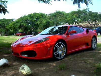 Ferrari en la Campana