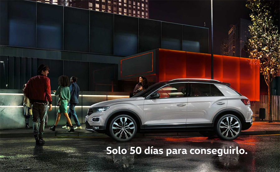 volkswagen lanza su nuevo suv t roc con una edici n limitada de 150 unidades autos af. Black Bedroom Furniture Sets. Home Design Ideas